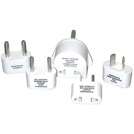 Travel Smart by Conair M-500E Polarized Adapter Plug Set