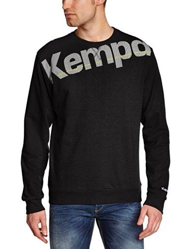 Kempa - Felpa da Uomo Core, Nero (Nero), XXS/XS