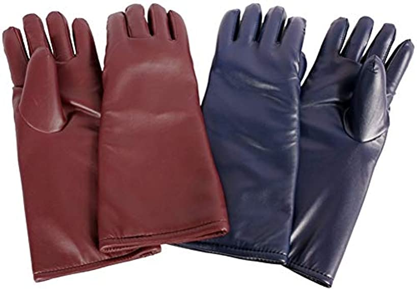 Vinyl X-Ray Gloves, 0.5mm Pb Protection, Regular Weight Lead, Pair
