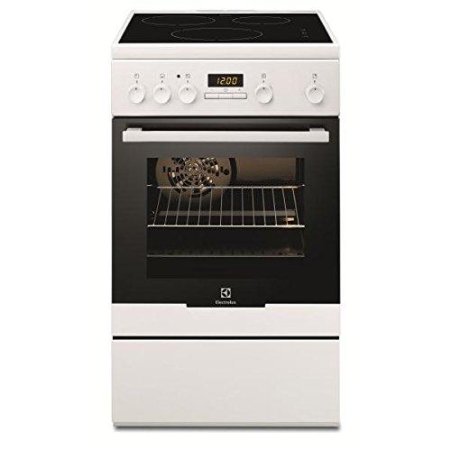Electrolux EKI54551OW - Cocina (Cocina independiente, Blanco, Botones, Giratorio, Frente, Con placa de inducción, Pequeño)