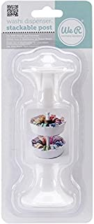 We R Memory Keepers 71148 Washi Tape Dispenser Stackable Post, 4.5-Inch