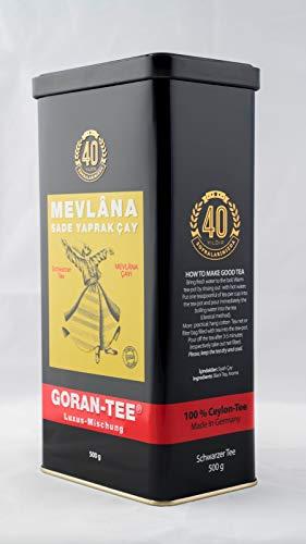 Mevlana Tee / Tea / Çay / CEYLON Tee/ GORAN / 500gr/1 Stück/ 1 x 500gr + DOSE
