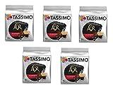 TASSIMO L'Or Café Splendente - 5 paquetes de 16 cápsulas: Total 80 unidades