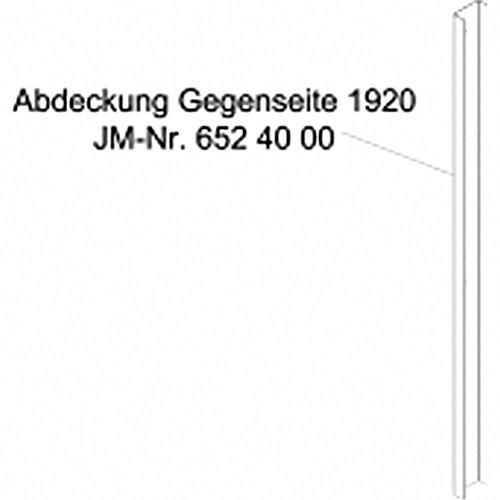 JMP Abdeckung GEGENSEITE 1920mm JMP Fox 4000 H