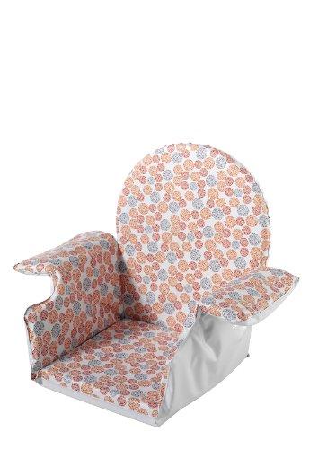 Schardt Réducteur de Taille avec Accoudoir Bubbles Red pour Chaise Haute