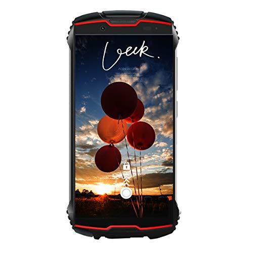 CUBOT King Kong Mini 4G Dual SIM Telefono Móvil Libre Antigolpes IP68 4.0 Pulgadas, 3GB RAM y 32GB ROM, Android 9.0, 2000mAh Batería Type-C, Resistentes Dual Cámara 13MP+8MP Smartphone (Rojo)