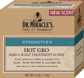Dr. Miracles Strengthen Daily Moisturizing Gro Oil 4 oz. by Dr. Miracles