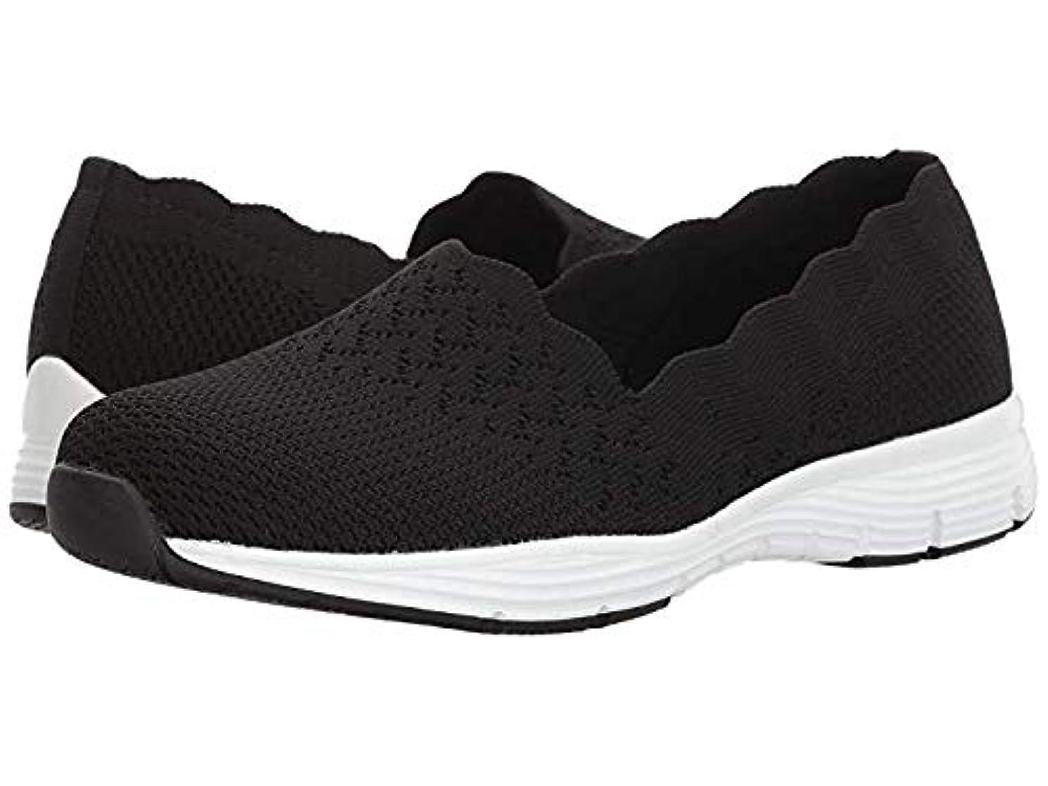 抑圧誇りに思うとても多くのレディースローファー?靴 Seager - Stat Black (23cm) B - Medium [並行輸入品]