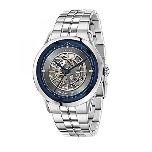 Maserati Reloj Analógico para de los Hombres de Automático con Correa en Acero Inoxidable R8823133005