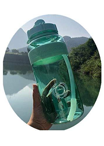 Gran Oferta, hervidor de Agua para Deportes al Aire Libre, Gran Capacidad, portátil, para Escalar, Botellas de Agua para Bicicletas, Tazas sin BPA para Gimnasio, 1500 ml, Verde