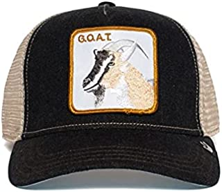 G.O.A.T. Trucker Hat from The Farm by Goorin Navy