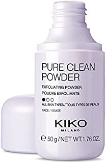 KIKO MILANO - Pure Clean Powder Exfoliating cleansing powder which transforms into a foam on contact with water. 50 g 1.76 OZ