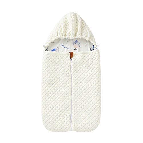 XINGYUE Saco de dormir universal para cochecito, saco de dormir para bebé, para invierno, con cremallera, para recién nacidos, de 0 a 12 meses
