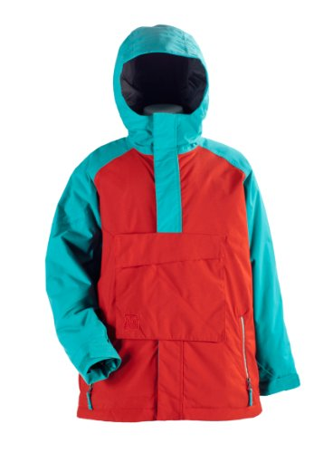 Nitro Kinder Jacke BOYS FUNTIME, RED/ TURQ, M, 1121-872855_1177