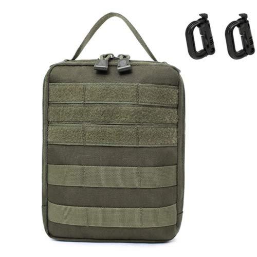 Leezo Outdoor EDC Molle Tactical Pouch Tasche Erste-Hilfe-Set Tasche Verschleißfeste Hüfttasche Reise Camping Wandern Klettern Aufbewahrungsbeutel
