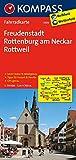 KOMPASS Fahrradkarte Freudenstadt - Rottenburg am Neckar - Rottweil: Fahrradkarte. GPS-genau. 1:70000 (KOMPASS-Fahrradkarten Deutschland, Band 3109)