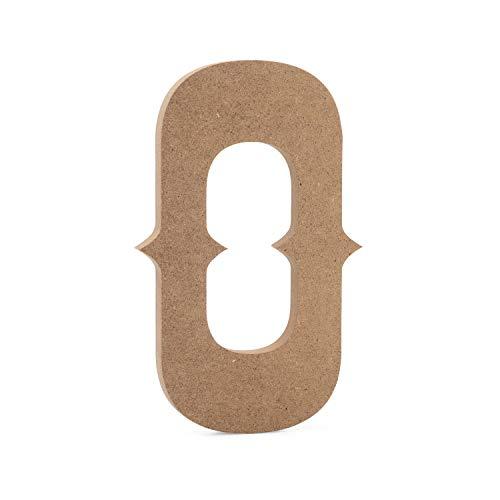 JoePaul's Crafts - 15cm - Wilde West Holzbuchstaben - O