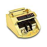 ELXSZJ XTZJ Contador de Dinero de Oro con detección de falsificación y conteo de facturas  Pantalla de iluminación  1,000 Billetes por Minuto   Se Adapta al dólar Estadounidense y más Grande