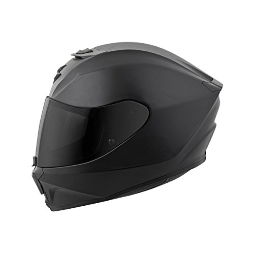 Scorpion EXO-R420 Full-Face Solid Street Motorcycle Helmet - Matte Black/Large