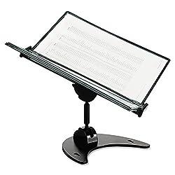Tarifold D3D71 Technic 3D 360 Degree Desktop Stand 10 Pockets 20 Sheet Capacity Black