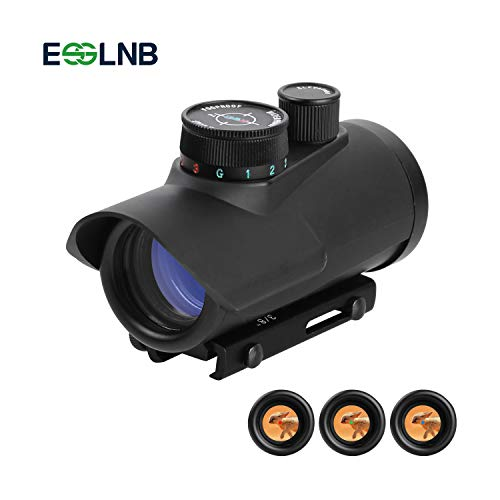 ESSLNB Airsoft Red Dot Sight Scope with 11mm/20mm Weaver/Picatinny Rail Mount...