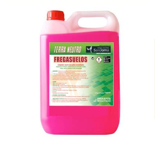 TERRA NEUTRO fregasuelos/limpiasuelos profesional perfumado a frutos rojos. Limpieza e higiene de...