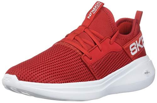 Tênis Skechers Go Run Fast Valor, Adulto Unissex, Vermelho, 36