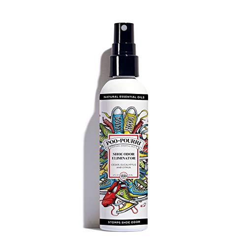 Poo-Pourri Shoe Odor Eliminator Spray, 4 Fl Oz