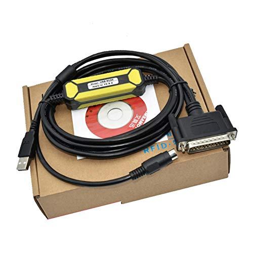 Cable de programación USB-SC09, compatible con Mitsubishi FX/A,...