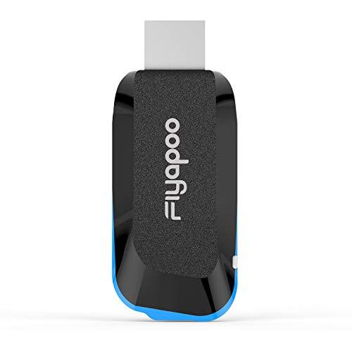 FIYAPOO - Dongle Miracast con display wireless 4K, adattatore WiFi HDMI, Miracast Airplay Dongle Screen Mirroring da Telefono/Pad a TV/proiettore, supporto Miracast DLNA AirPlay Chromecast e Netflix