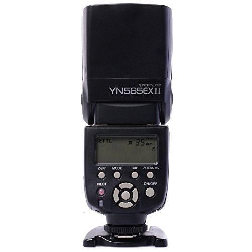 Yongnuo YN-565EX TTL Flash Speedlite Flashgun Lampeggiatore Per Canon EOS 7D 5DII 60D 50D 1000D 1100D 40D 30D 450D 500D 550D 600D 400D 350D 300D Sostituisce 580EX