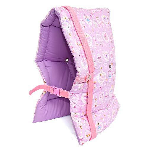 防災頭巾 子供用 レース模様にprettyバレリーナ(ラベンダー) N4430600