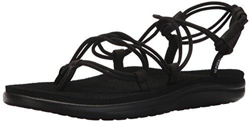 Teva Damen Voya Infinity Sandal Womens Pantoffeln, Schwarz (Black Blk), 38 EU