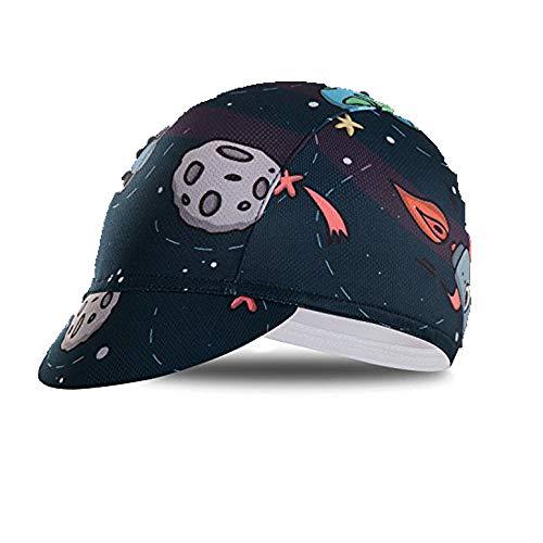 Radkappen Team Herren Kopfbedeckung Sonne UV Hut MTB Fahrrad Team Helm Innenkappe Gr. Einheitsgröße, CD2402
