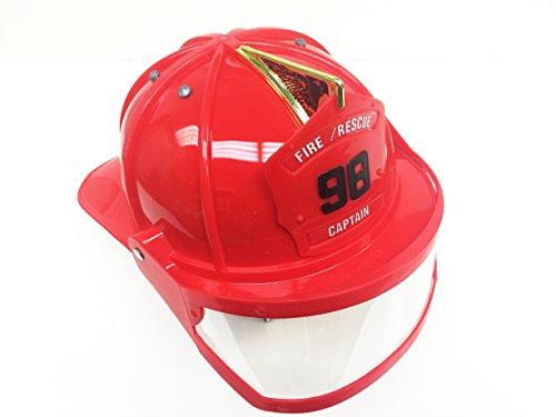 GiftExpress Toy Firefighter Helmet with Visor/Fireman Helmet/Fireman hat