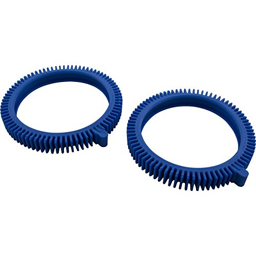 Find Bargain The Pool Cleaner Front Tires, Blue (Package of 2)
