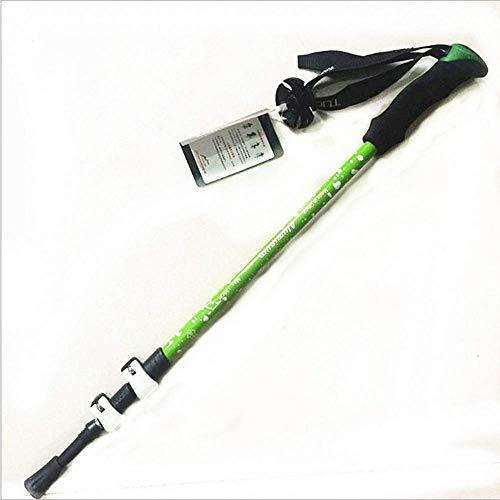 LXYZ 6061 Verrou Externe Trekking Pole Bâton de Marche Alliage d'aluminium télescopique ultraléger d'aviation