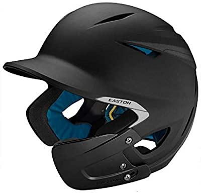 Easton PRO X Baseball Batting Helmet with JAW Guard Series | Left or Right Handed Batters | Matte Color | 2020 | Multi-Density Impact Absorption Foam | High Impact Resistant ABS Shell | BioDRI Liner