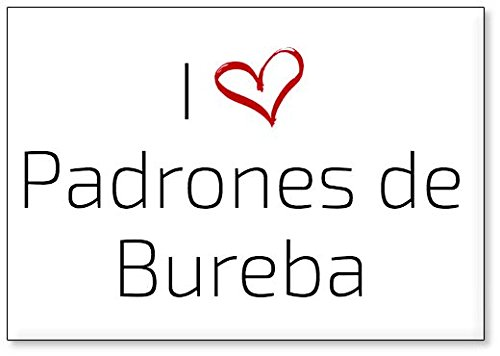 Mundus Souvenirs - Amo Padrones de Bureba, Imán para Nevera (diseño 2)