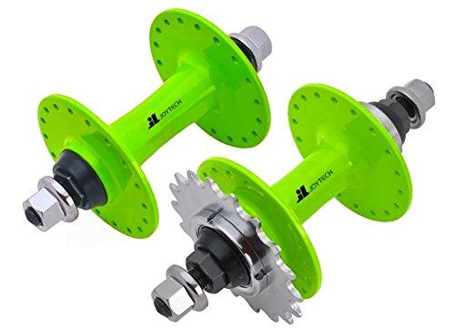 Joytech 36H Fixed Gear & Freilauf-Flip-Flop-Nabensatz, Fixie, Track Bike Nabe (grün)