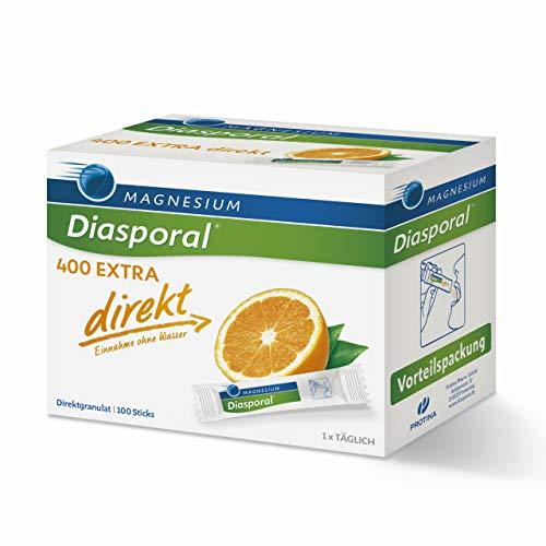 Magnesium-Diasporal 400 EXTRA direkt: Das Direktgranulat der EXTRA-KLASSE mit 400 mg Magnesium pro Stick, 100 Sticks
