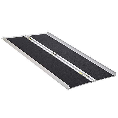 "Extra Wide-31"" Wide, 60"" Long, 800 lbs Weight Capacity, Wheelchair Ramp, Ramps for Wheelchairs, Wheelchair Ramps for Home, Portable Wheelchair Ramp, Wheelchair Ramps for Steps, Aluminum Alloy"