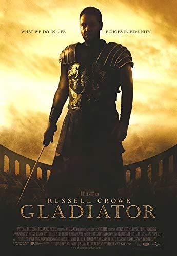 "POSTER STOP ONLINE Gladiator - Movie Poster Regular (Size 27"" x 39"") (Poster & Poster Strip Set)"