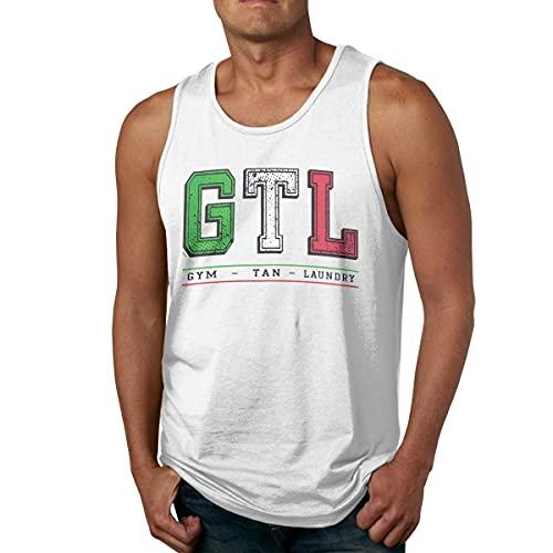 stone Mens Shirts GTL Gym Tan Laundry Gym Sleeveless Tank Tops Camisetas y Tops(X-Large)