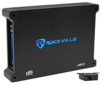 Rockville dB12 2000 Watt Peak/500w RMS Mono 2 Ohm Amplifier Car Amp