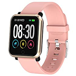 Image of EpochAir Fitness Tracker, Waterproof Activity Tracker, Smart Watch with Heart Rate Monitor, Sleep Monitor, Pedometer, Calorie Counter Sports Fitness Watches for Men Women: Bestviewsreviews