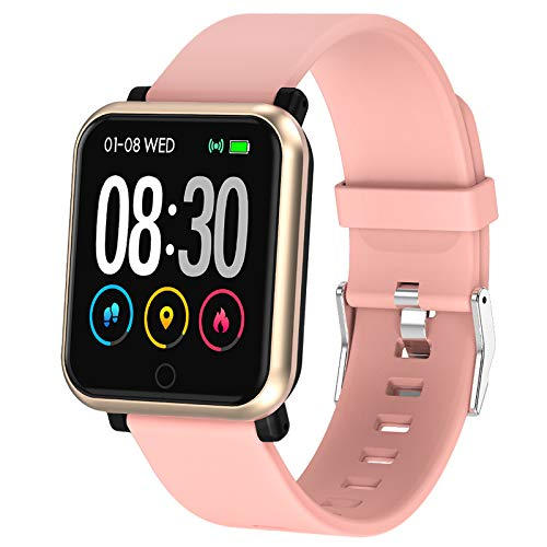 EpochAir Fitness Tracker, Waterproof Activity Tracker, Smart Watch with Heart Rate Monitor, Sleep Monitor, Pedometer, Calorie Counter Sports Fitness Watches for Men Women