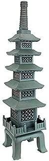 Design Toscano The Nara Temple Pagoda Asian Decor Garden Statue, Large 28 Inch, Polyresin, Verdigris Green Bronze