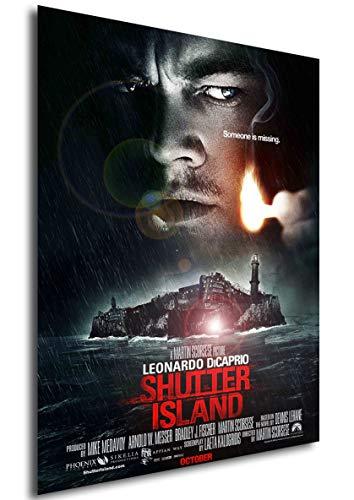 Instabuy Poster Shutter Island - Theaterplakat - A3 (42x30 cm)
