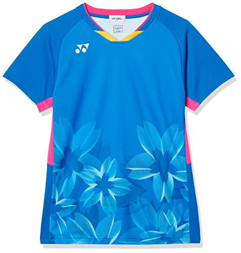 [ヨネックス] 半袖シャツ ゲームシャツ(フィットスタイル) メンズ ファインブルー (599) 日本 M (日本サイズM相当)